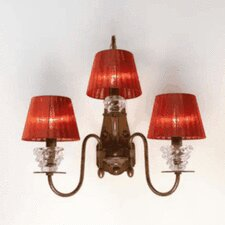Classic Class 3 Light Wall Sconce