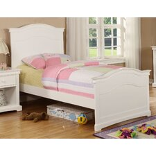 Cambridge Full Arched Wood Panel Bed with Headboard and Footboard