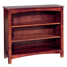 """Wakefield 34""""H  Wood Bookcase with Two Adjustable Shelves"""