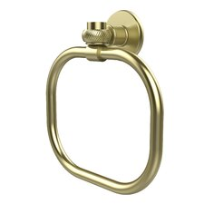 Continental Wall Mounted Towel Ring with Twist Detail