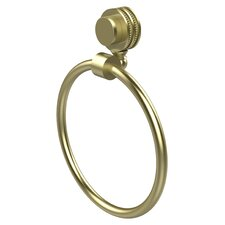 Venus Wall Mounted Towel Ring with Dotted Detail
