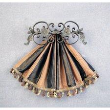 Casa Artistica Top Treatment Medallion Curtain Holdback