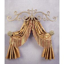 Casa Artistica Top Treatment Large Royal Curtain Bracket