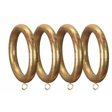 Compatible Smooth Drapery Curtain Ring (Set of 4)