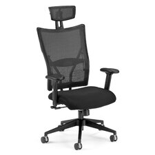 Ultimate High-Back Conference Chair with Arms