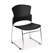 Multi-Use Plastic Stacking Chair (Set of 4)