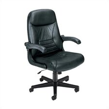 "Executive ""MobileArm""  Leather Executive Chair"