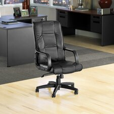 High-Back Leather Executive / Conference Chair with Arms