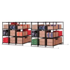 X5 Lite 4 Shelf Shelving Unit Starter