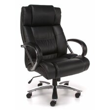 High Back Big and Tall Leather Executive Chair