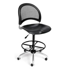 Height Adjustable Swivel Stool with Gas Lift