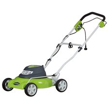 2-in-1 Lawn Mower with Mulch and Side Discharge