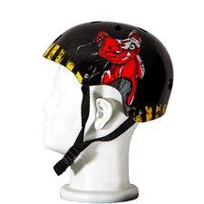 Punisher Teddy 11-Vent Skateboard Helmet