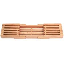 Adjustable Bamboo Bathtub Caddy