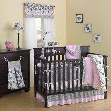 Versailles Pink 10 Piece Crib Bedding Set