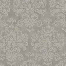 "Windermere 27' x 27"" Evelyn Damask Distressed Wallpaper"