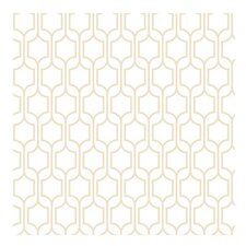 "Bistro 750 33' x 21"" Trellis Wallpaper"