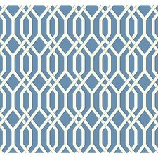 "Ashford Geometrics 27' x 27"" Garden Pergola Geometric Wallpaper"