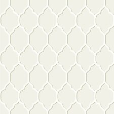 """Casabella II Moroccan 33' x 20.5"""" Trellis Wallpaper"""