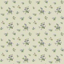 """Casabella II Mini Rose Toss 33' x 20.5"""" Floral Wallpaper"""