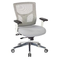 Pro-Line II™ Mid-Back Mesh Manager's Chair with Padded Fabric Seat