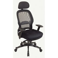 SPACE Deluxe Matrex High-Back Mesh Conference Chair with Arms
