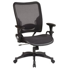 SPACE Deluxe Air Grid Mid-Back Conference Chair with Arms