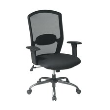 Screen Back Mesh Seat Office Chair