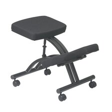 Ergonomic Kneeling Chair with Dual Wheel Casters