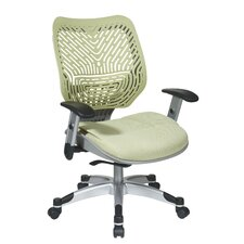 SPACE REVV Ice SpaceFlex Mid-Back Mesh Office Chair