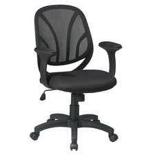 Work Smart Mid-Back Managerial Chair