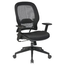 Space AirGrid Back and Mesh Seat Conference Chair