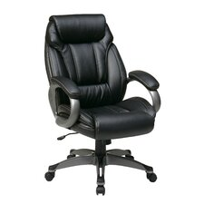 Work Smart Eco Leather Executive Chair