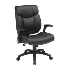 High-Back Manager Chair with Flip Arms