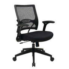 Air Grid Back Mesh Conference Chair with Flip Arms