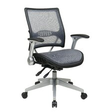 Professional Air Grid Back Conference Chair with Flip Arms