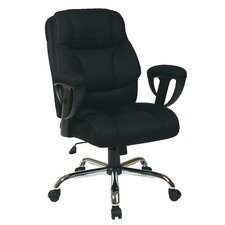Mesh Executive Chair with Padded Height Adjustable Arms