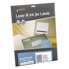 Maco File Folder Labels, 1500/Box