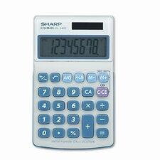 EL-240SB Business/Handheld Calculator, Eight-Digit LCD