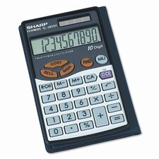 EL-480SRB Business/Handheld Calculator, 10-Digit LCD