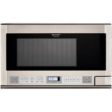 1.5 Cu. Ft. 1100W Countertop Microwave in Stainless Steel