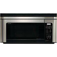 1.1 Cu. Ft. 850W Over-the-Range Microwave in Stainless Steel