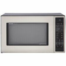 1.5 Cu. Ft. 900W Countertop Microwave in Stainless Steel