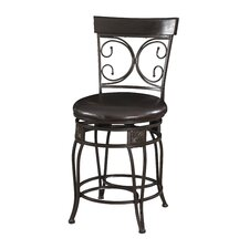 "Big and Tall XL 24"" Bar Stool with Cushion"