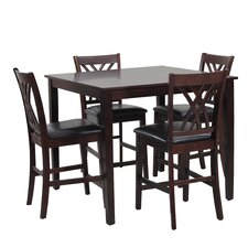 Daniel  5 Piece Counter Height Dining Set