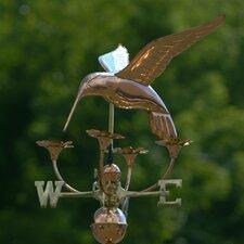 Hummingbird with Flowers Weathervane