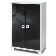 Quadrante 2 Door Storage Cabinet