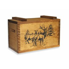 Standard Storage Box With Elk Print
