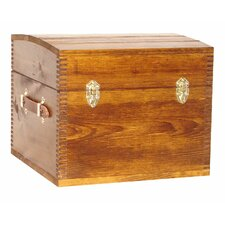 Deluxe Half Trunk with Leather Handles