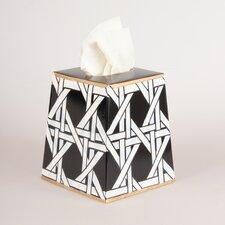 Cane Tissue Box Cover